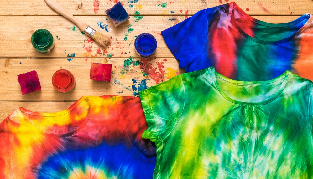 Colorful Dyed T Shirts