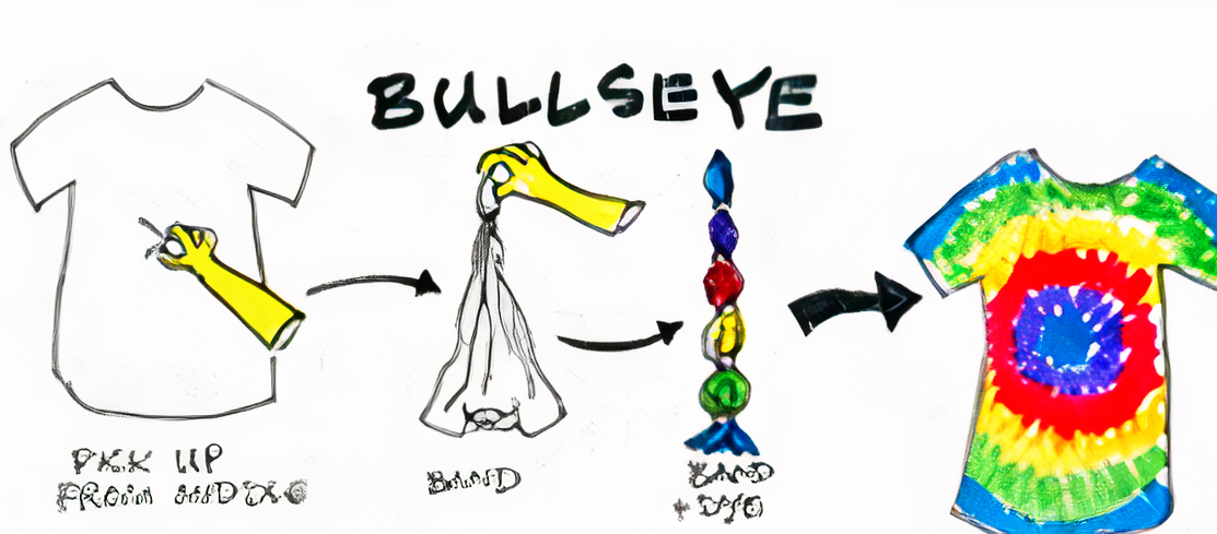 How To Make Bullseye Design