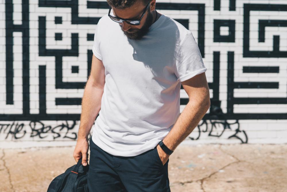 Boy In White T Shirt