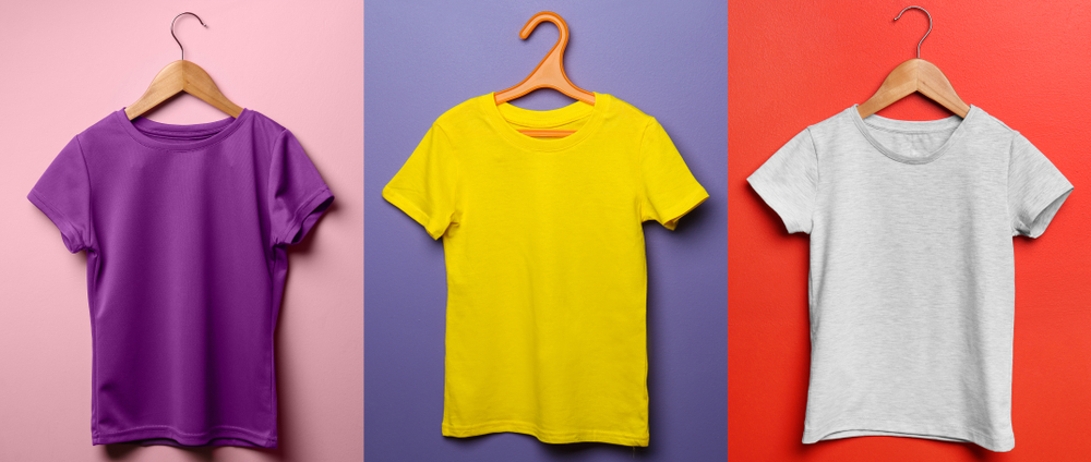Different T Shirt Color Combinations