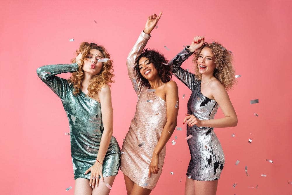Girls clubbing In Dress