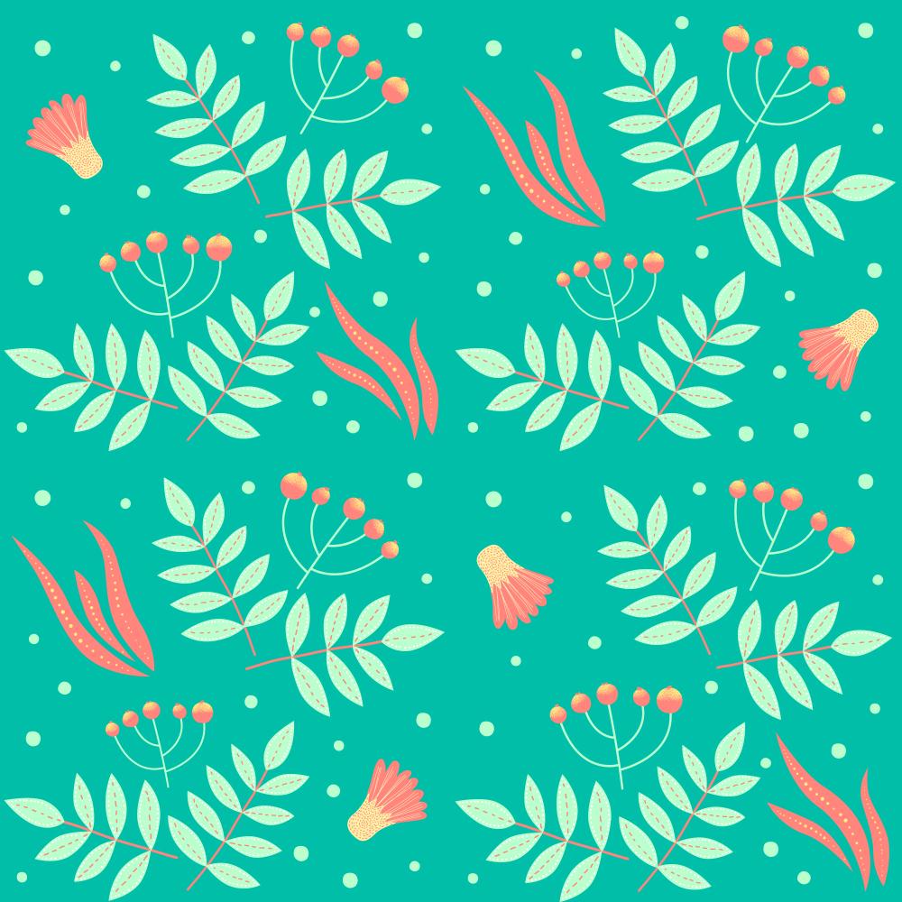 Green Ash & Coral