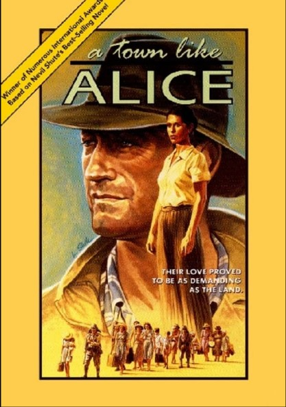 A Town Like Alice Movie Poster