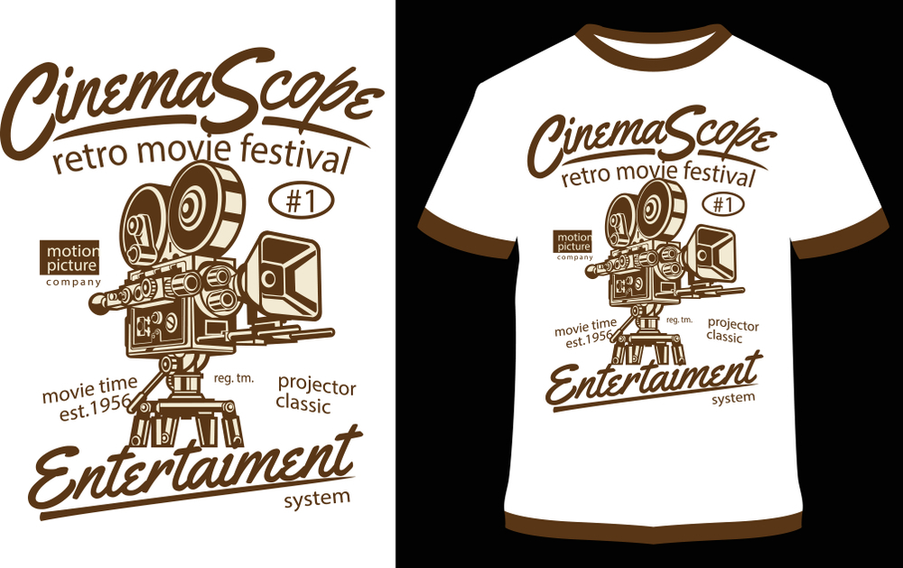 Movie-Themed-Printed-T-Shirt