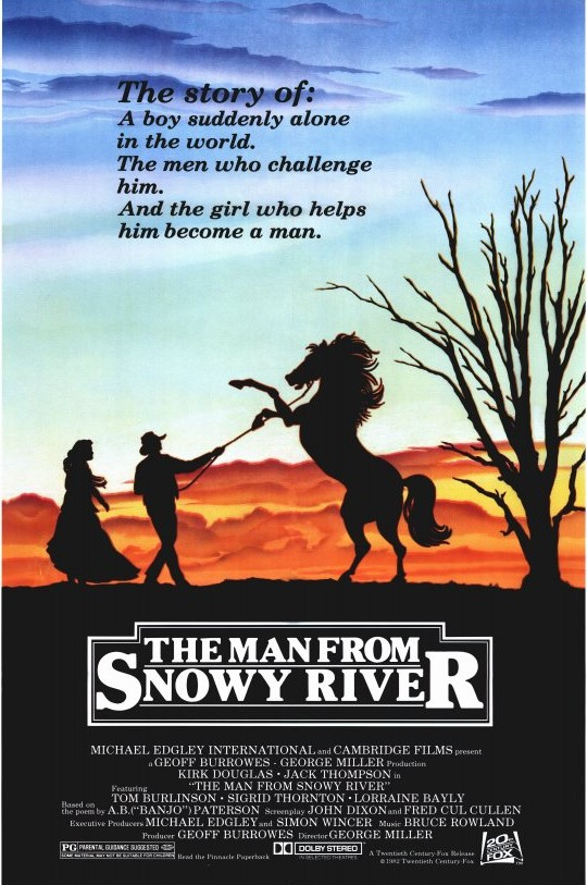 The Man from Snowy River Movie Poster